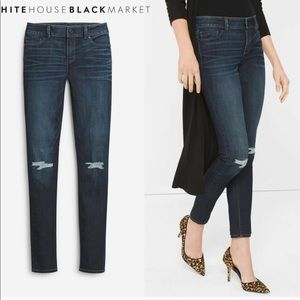 White House Black Market Skimmer Jeans 6